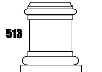 Round Column Caps and Bases