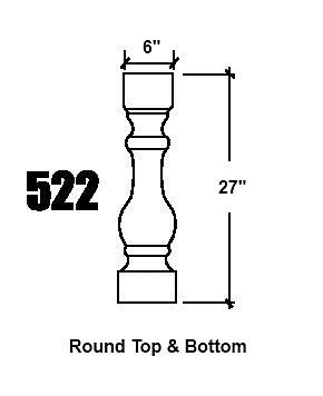 522 Baluster design
