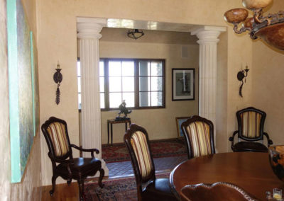dining room stone