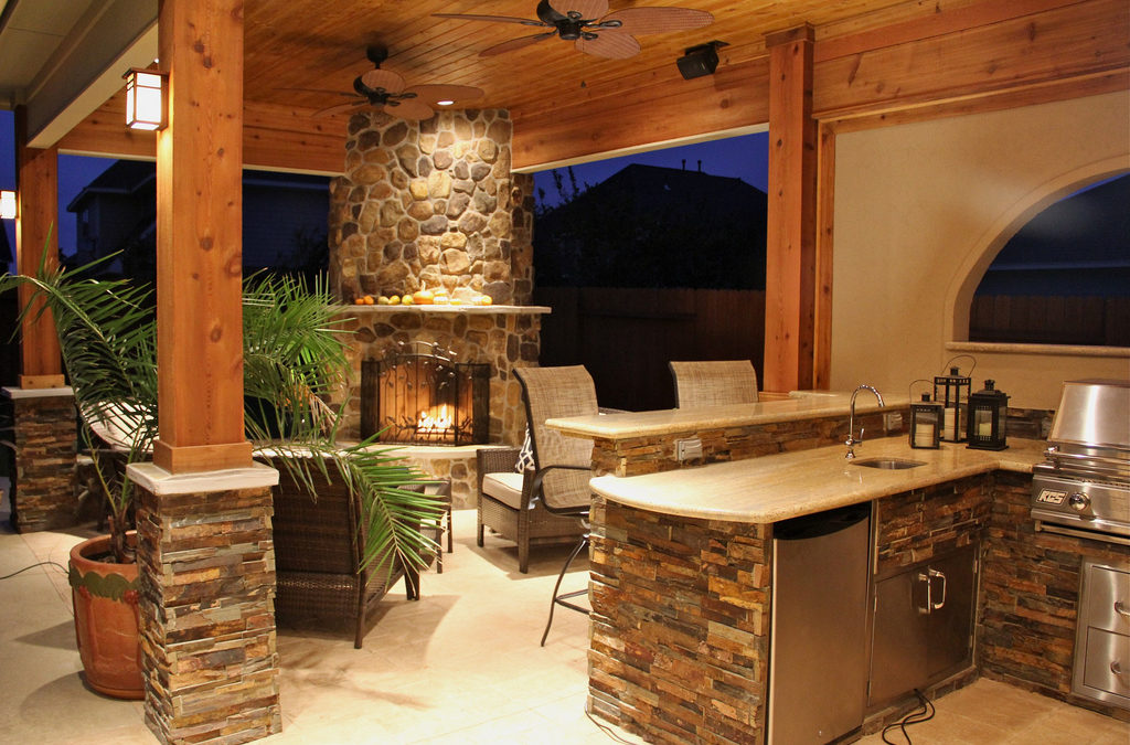 Stone outdoor Living